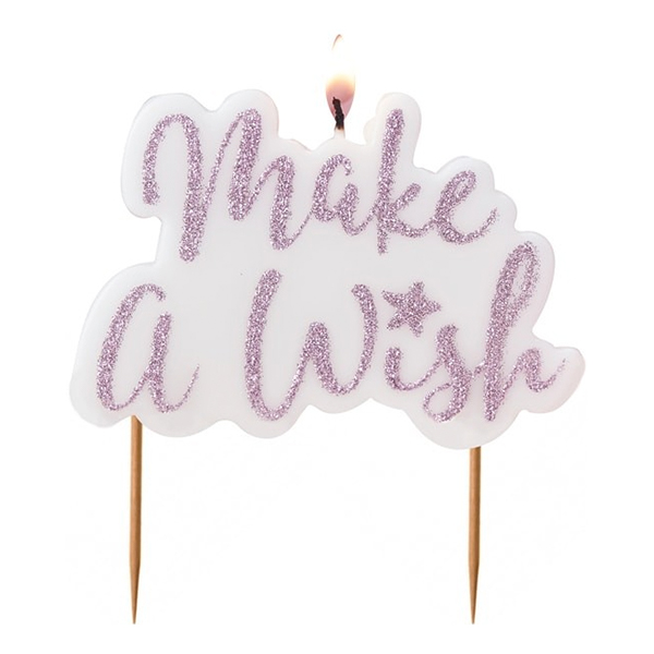 Tårtljus Make a Wish - 1-pack