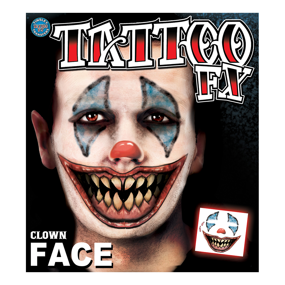 Tattoo FX Clown