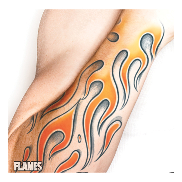 Tattoo FX Flames