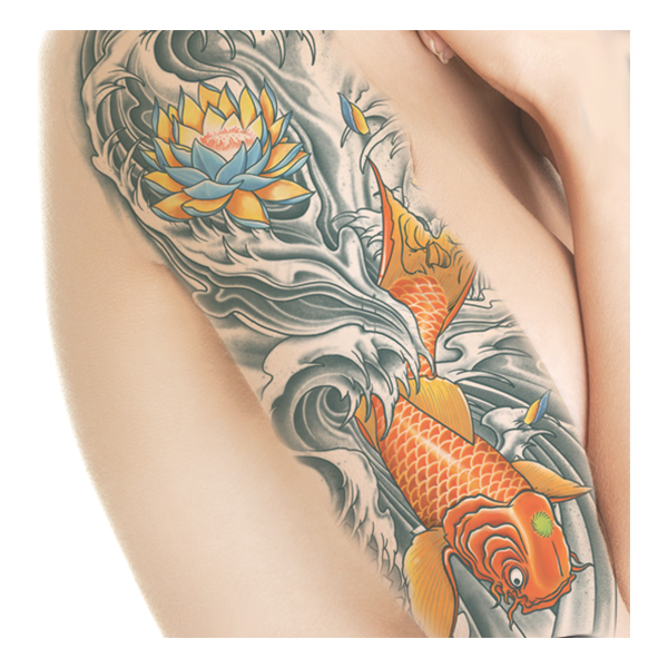Tattoo FX KOI Fish