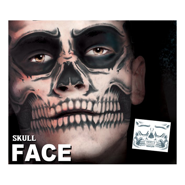 Tattoo FX Scull Face