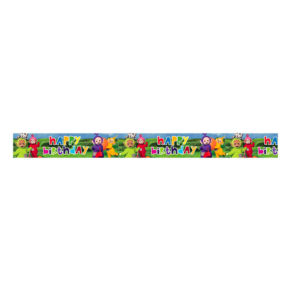 Teletubbies Happy Birthday Banderoll