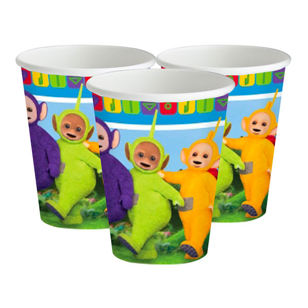 Teletubbies Pappersmuggar - 8-pack