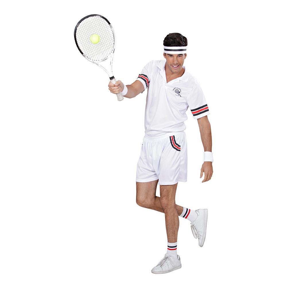Tennisproffs Maskeraddräkt - Small