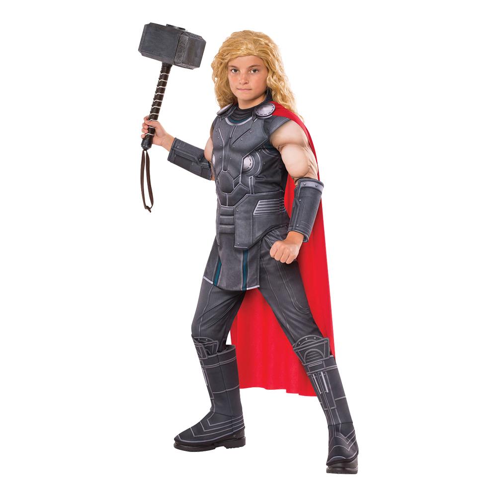 Thor Ragnarök Deluxe Barn Maskeraddräkt - Medium
