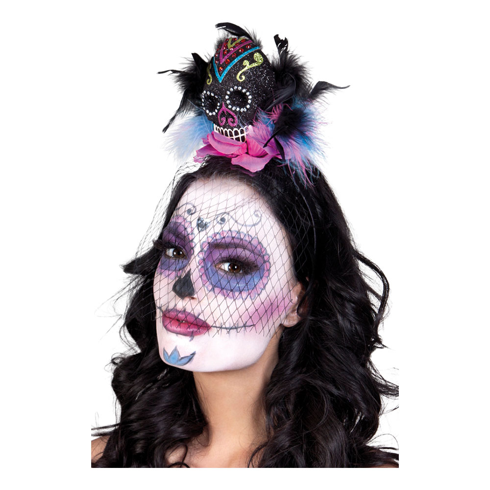 Diadem Day of the Dead Calavera - One size