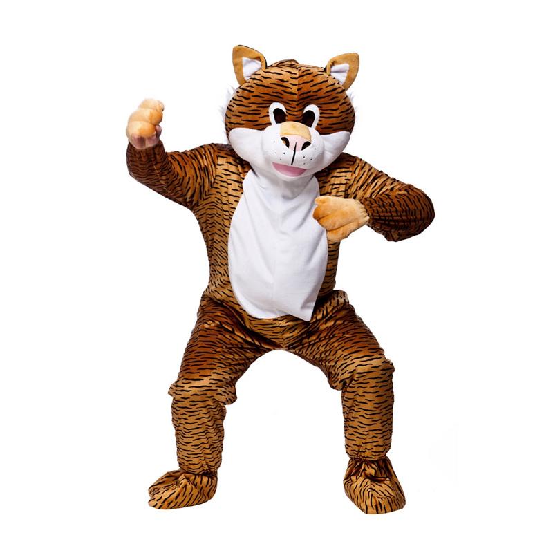 Tigermaskot Maskeraddräkt - One size