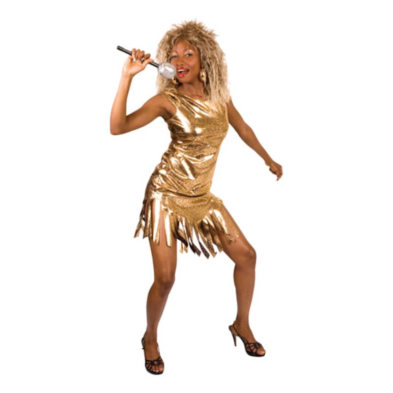Tina Turner Maskeraddräkt - One size