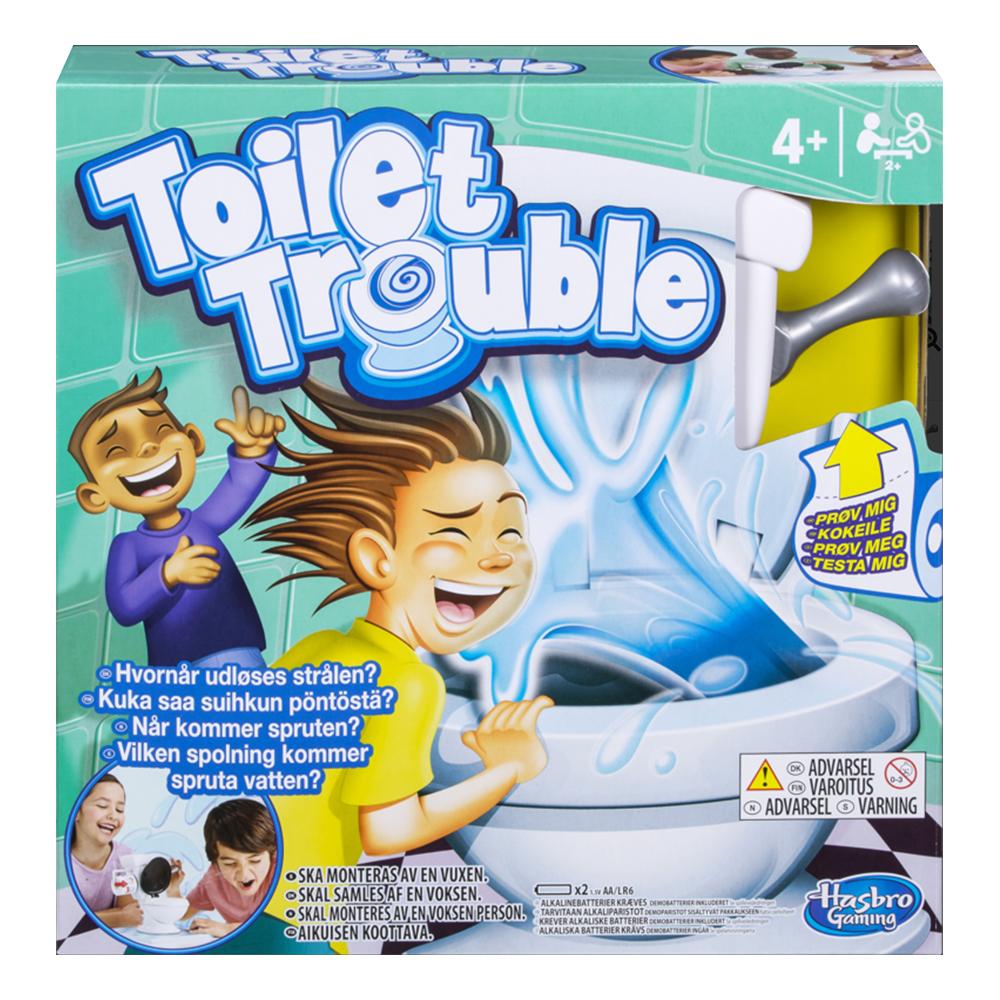 Toilet Trouble Sällskapsspel