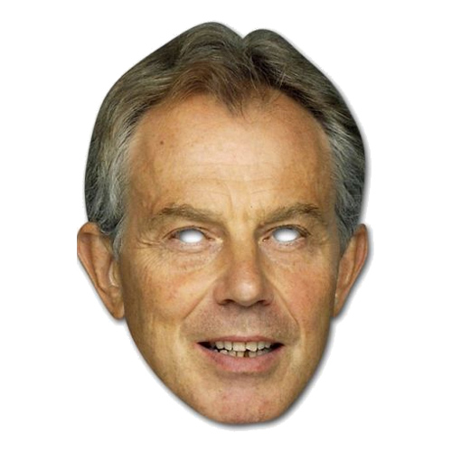 Tony Blair Pappmask - One size