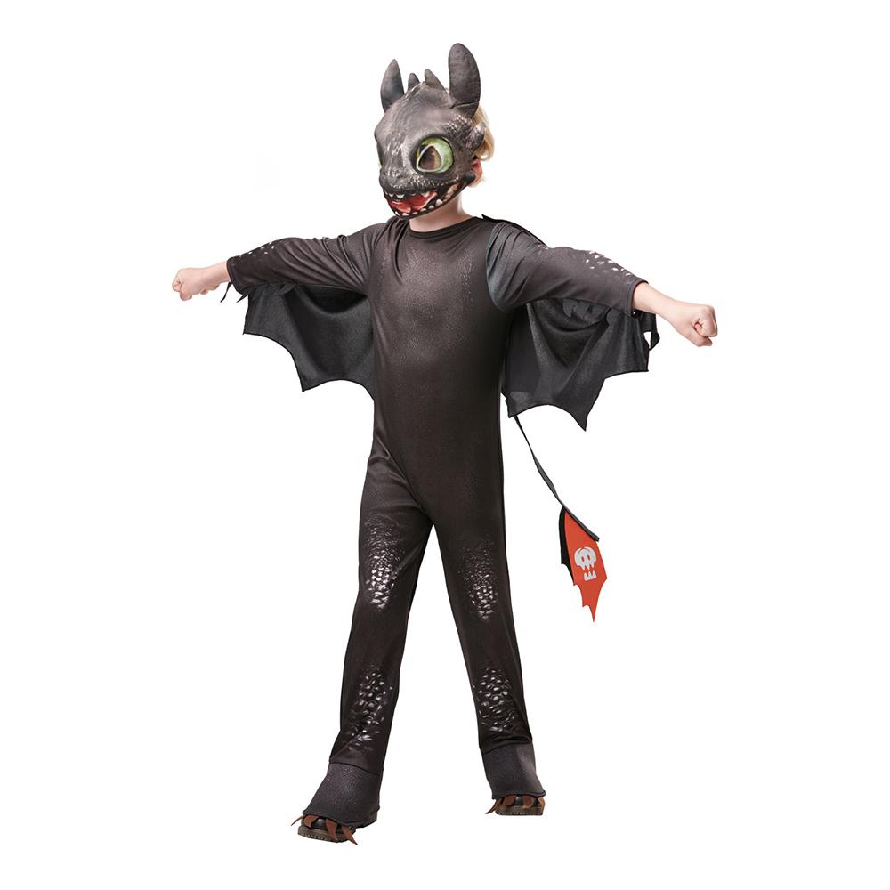Toothless Barn Maskeraddräkt - Small