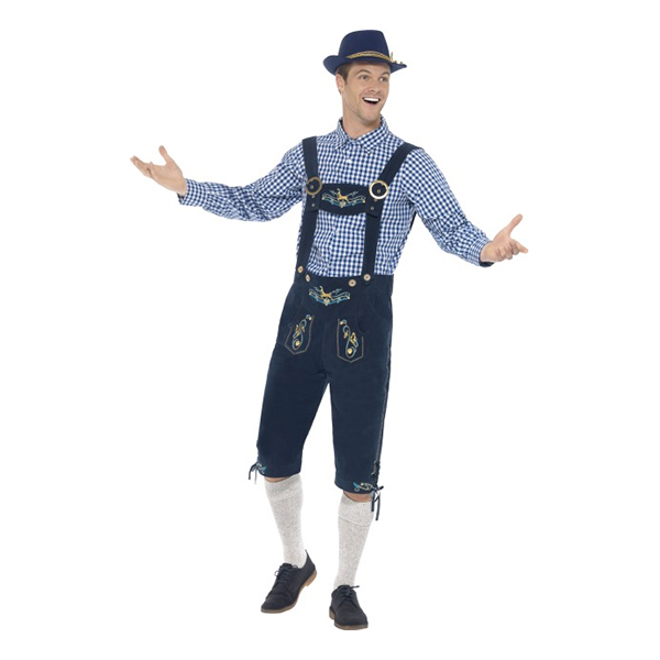 Traditional Rutger Bavarian Deluxe Maskeraddräkt - Medium