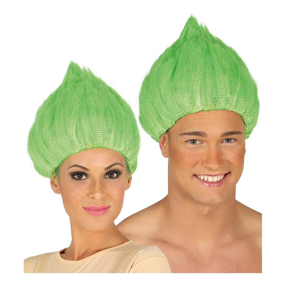 Troll Grön Peruk