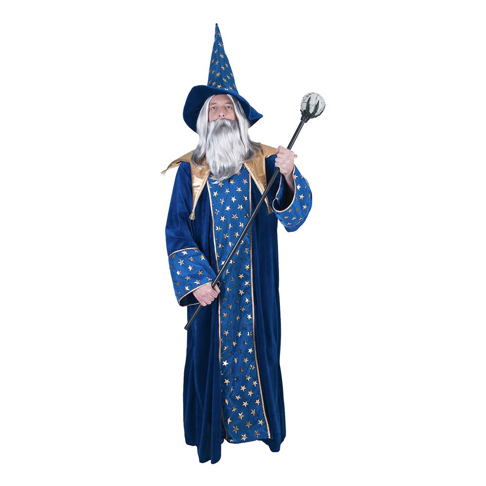 Magisk Trollkarl Maskeraddräkt - One size