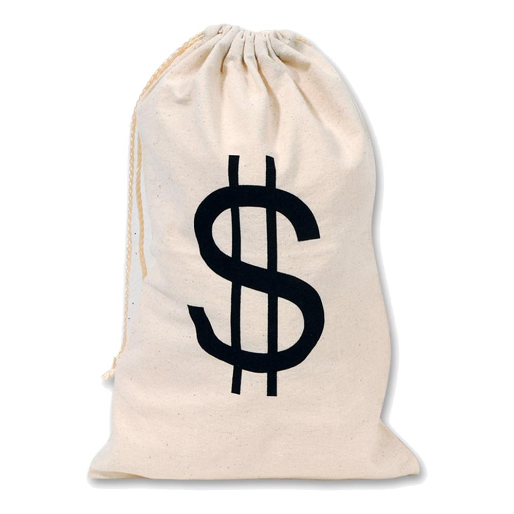 Tygväska med Dollartecken