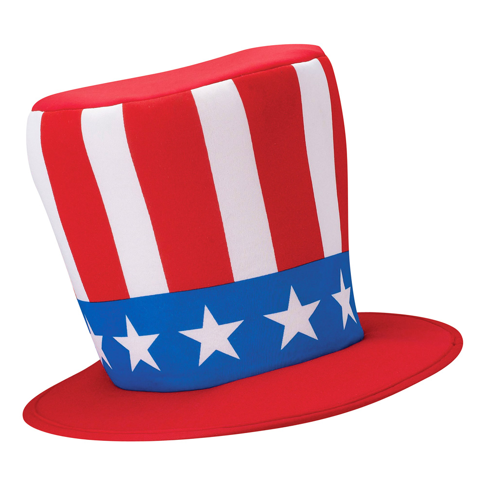 Uncle Sam Budget Hatt - One size