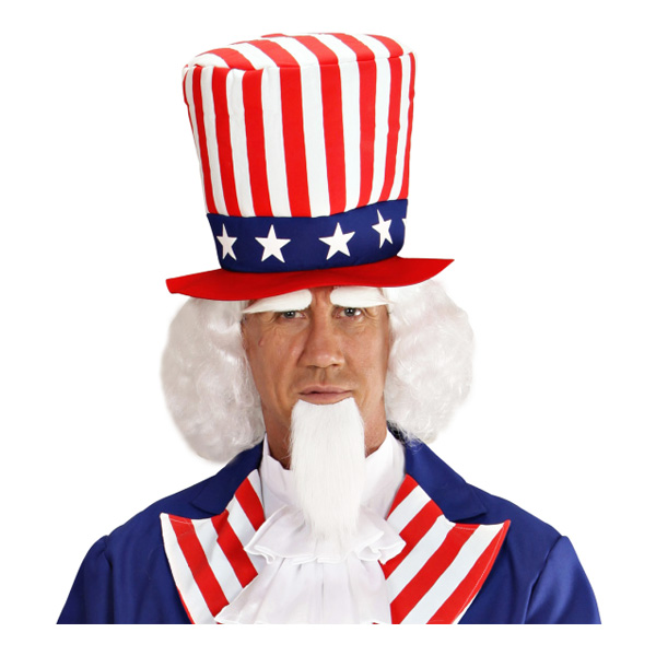Uncle Sam Perukset - One size