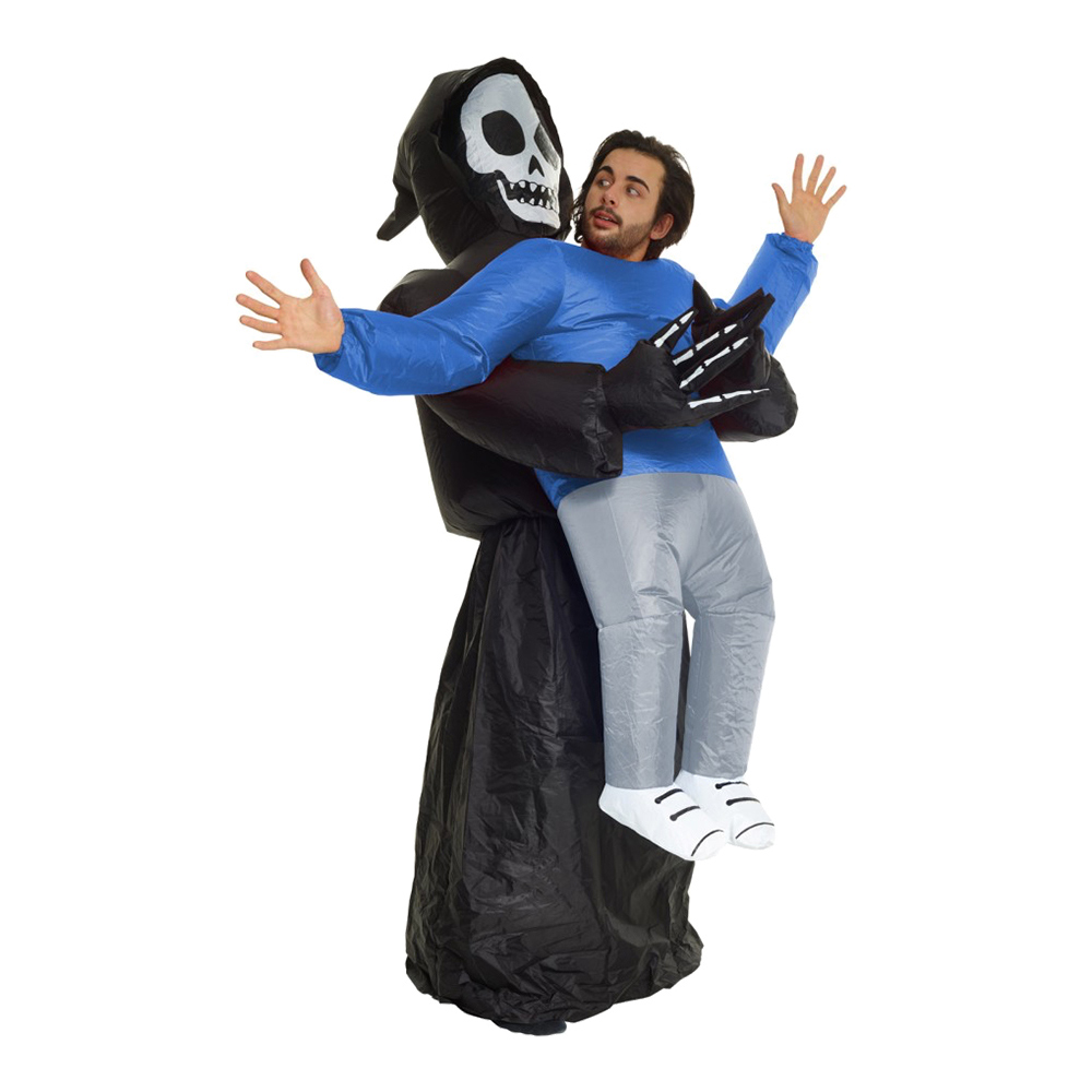 Uppblåsbar Bärande Döden Maskeraddräkt - One size