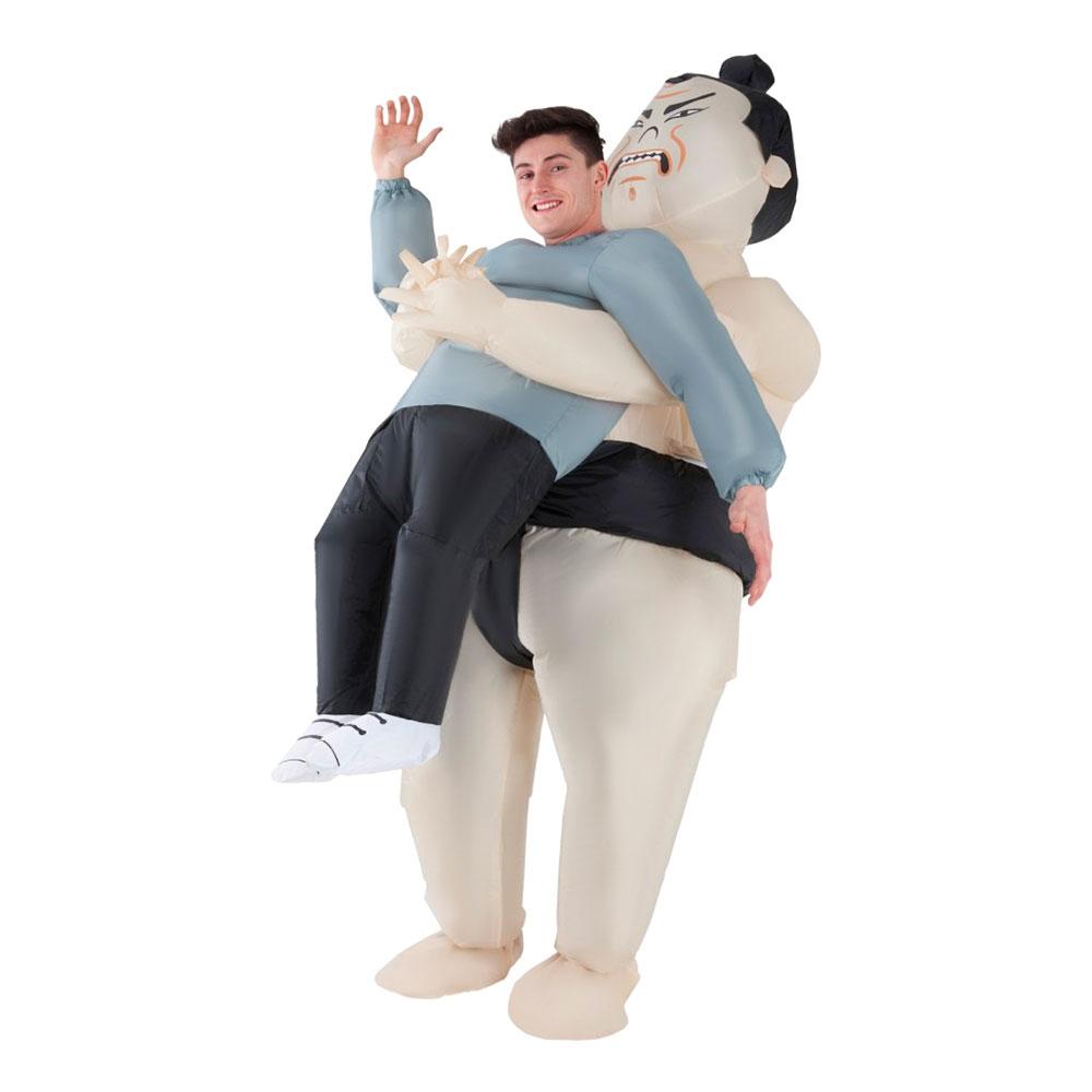 Uppblåsbar Bärande Sumo Maskeraddräkt - One size