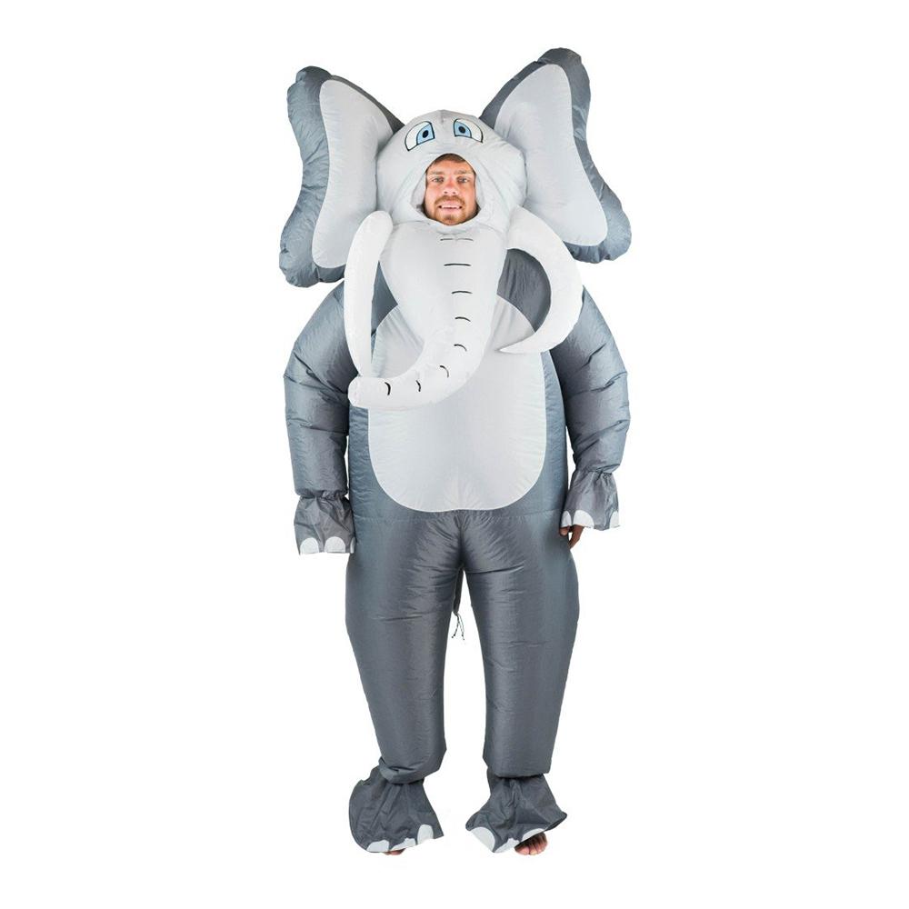 Uppblåsbar Elefant Maskeraddräkt - One size