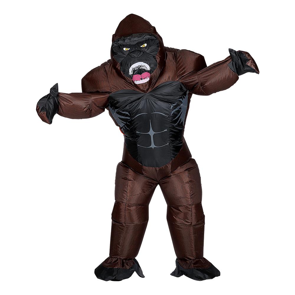 Uppblåsbar Gorillahane Maskeraddräkt