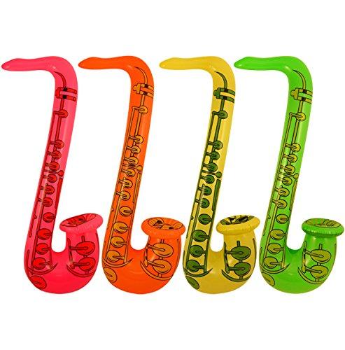 Uppblåsbar Jazz Saxofon
