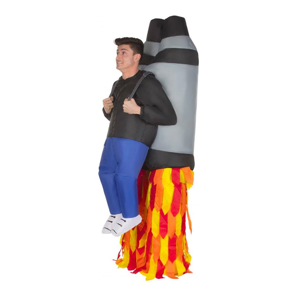 Uppblåsbar Jet Pack Maskeraddräkt - One size