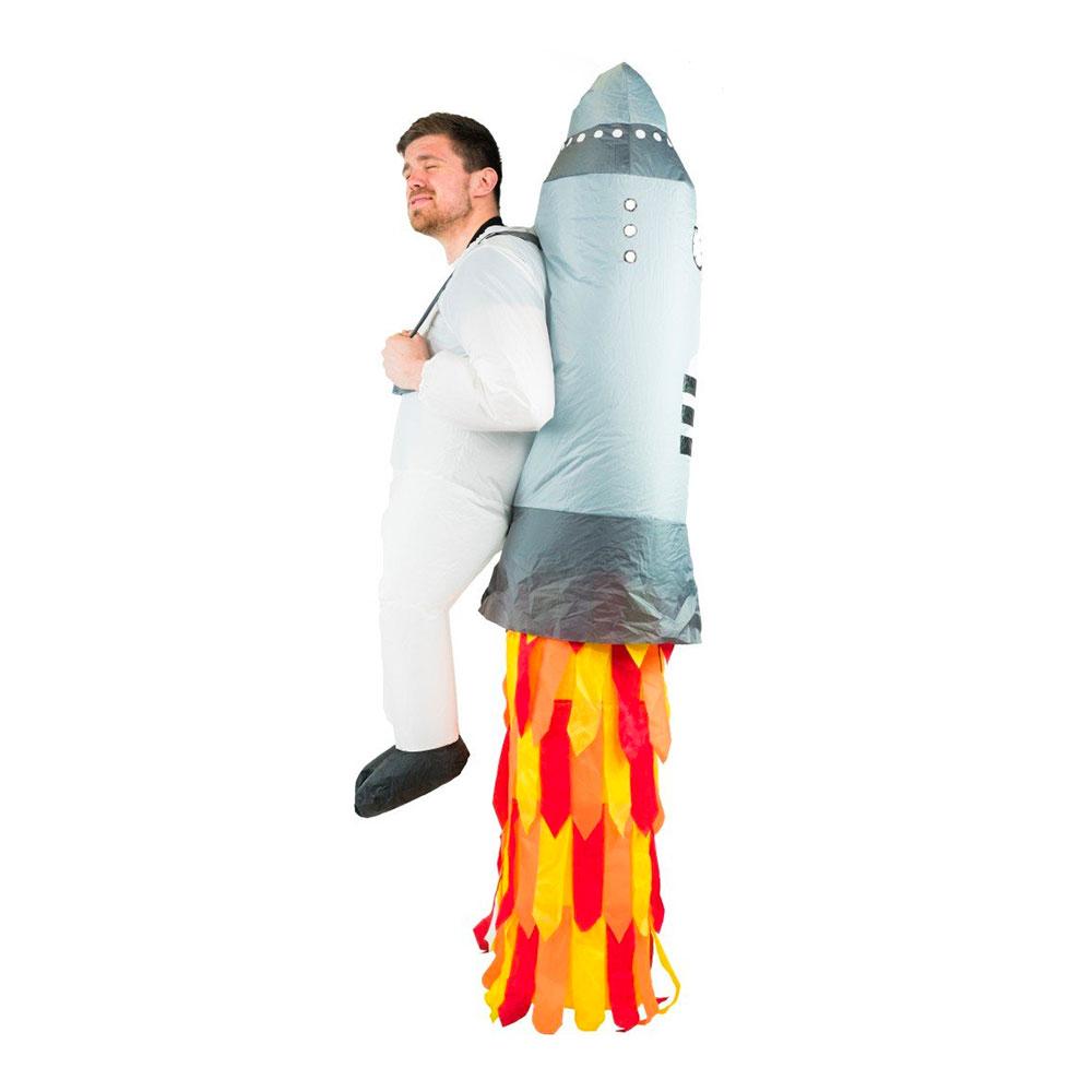 Uppblåsbar Jetpack Maskeraddräkt - One size