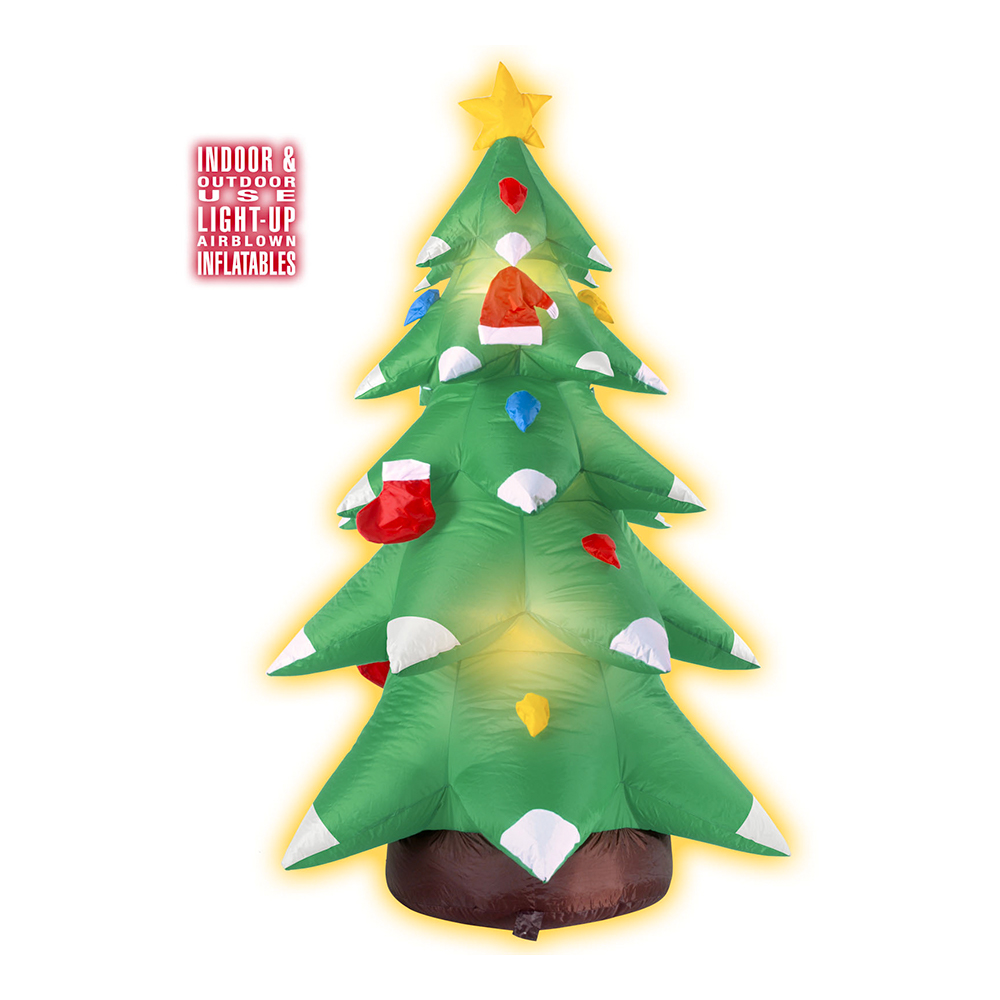 Uppblåsbar Julgran med Belysning