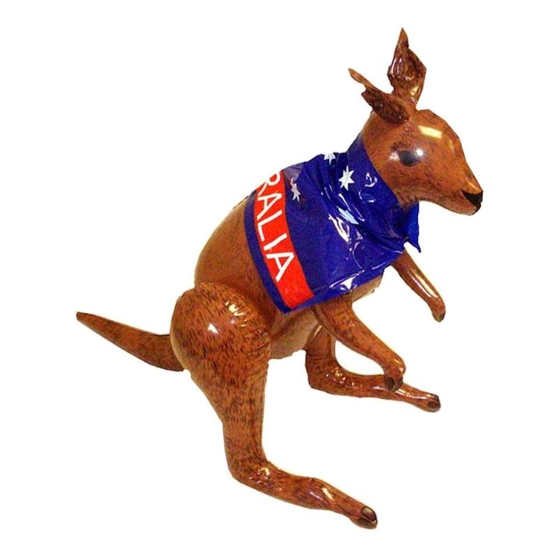 Uppblåsbar Känguru