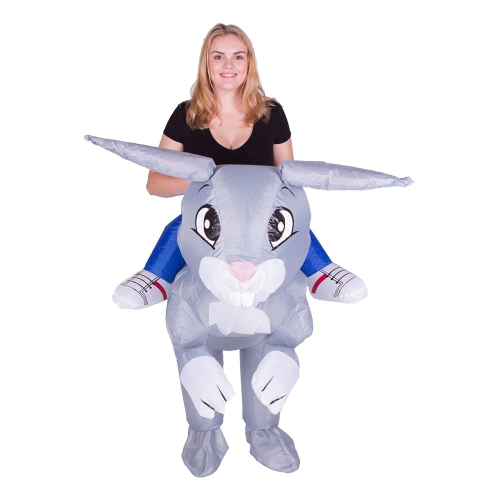 Uppblåsbar Kanin Maskeraddräkt - One size