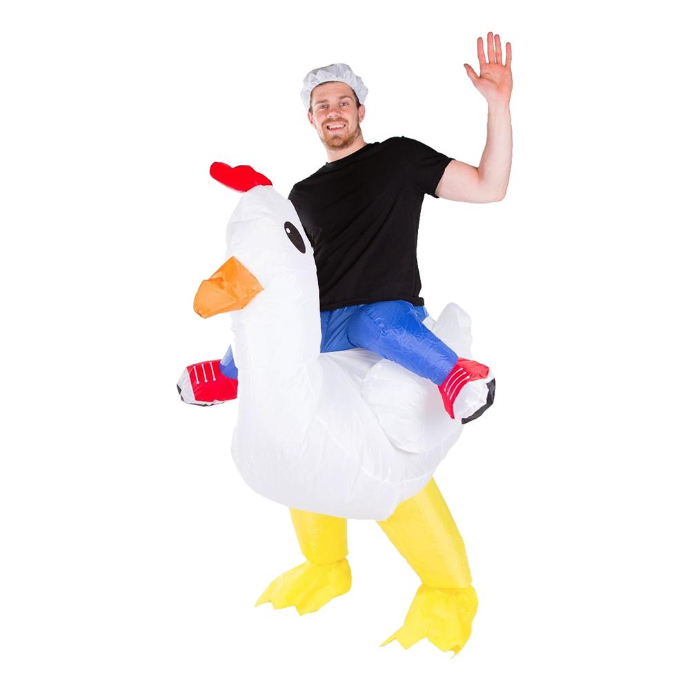 Uppblåsbar Kyckling Maskeraddräkt