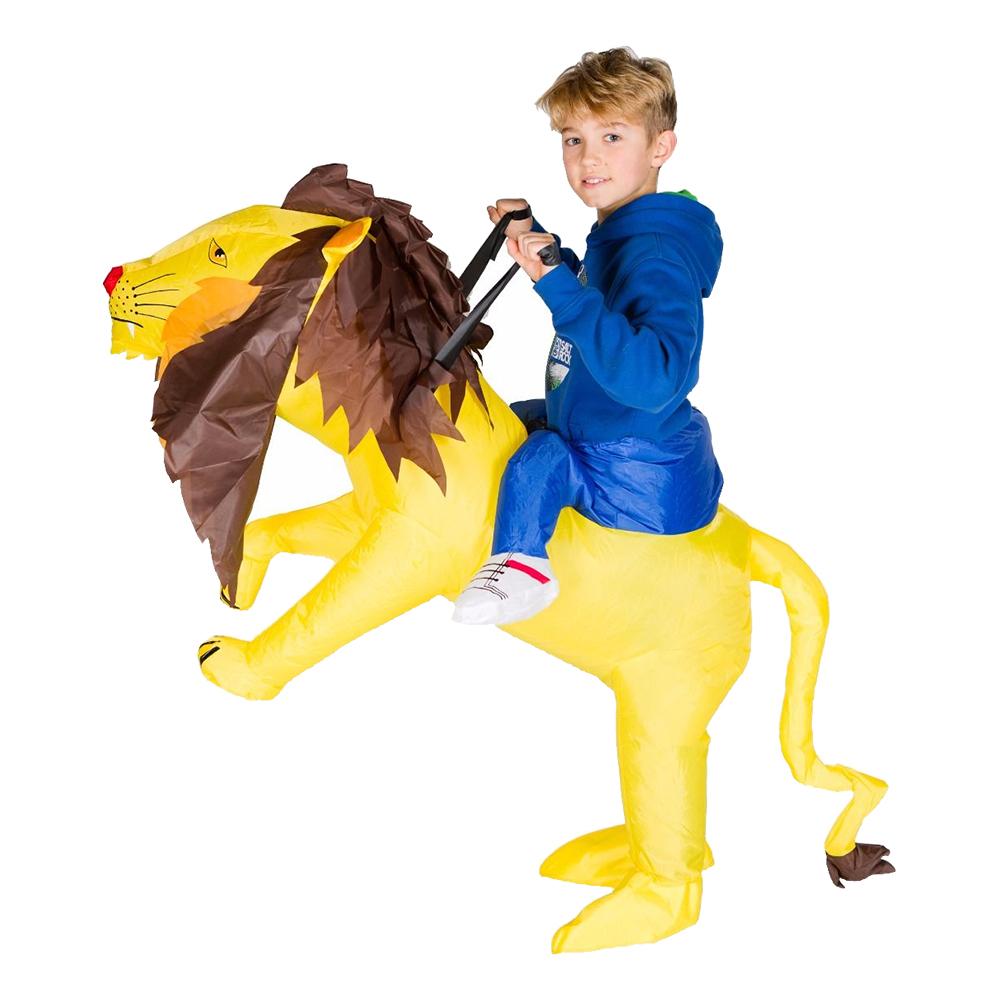 Uppblåsbar Lejon Barn Maskeraddräkt