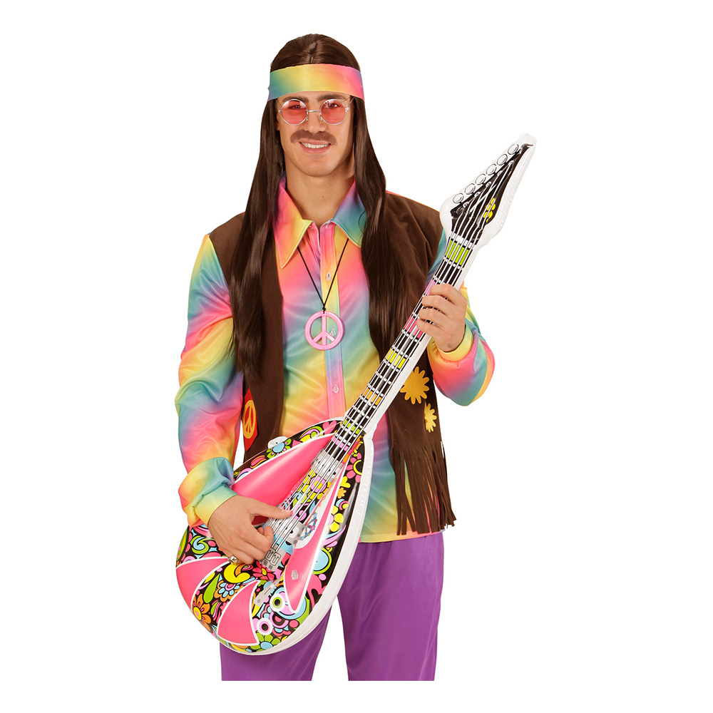 Uppblåsbar Mandolin Hippie