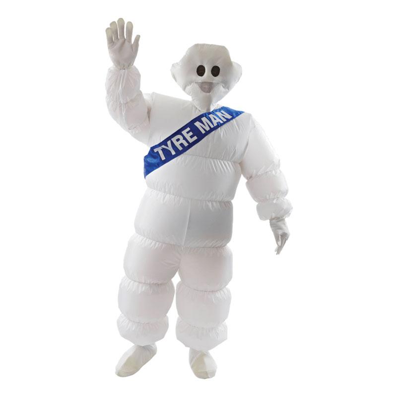 Uppblåsbar Michelingubben Maskeraddräkt - One size