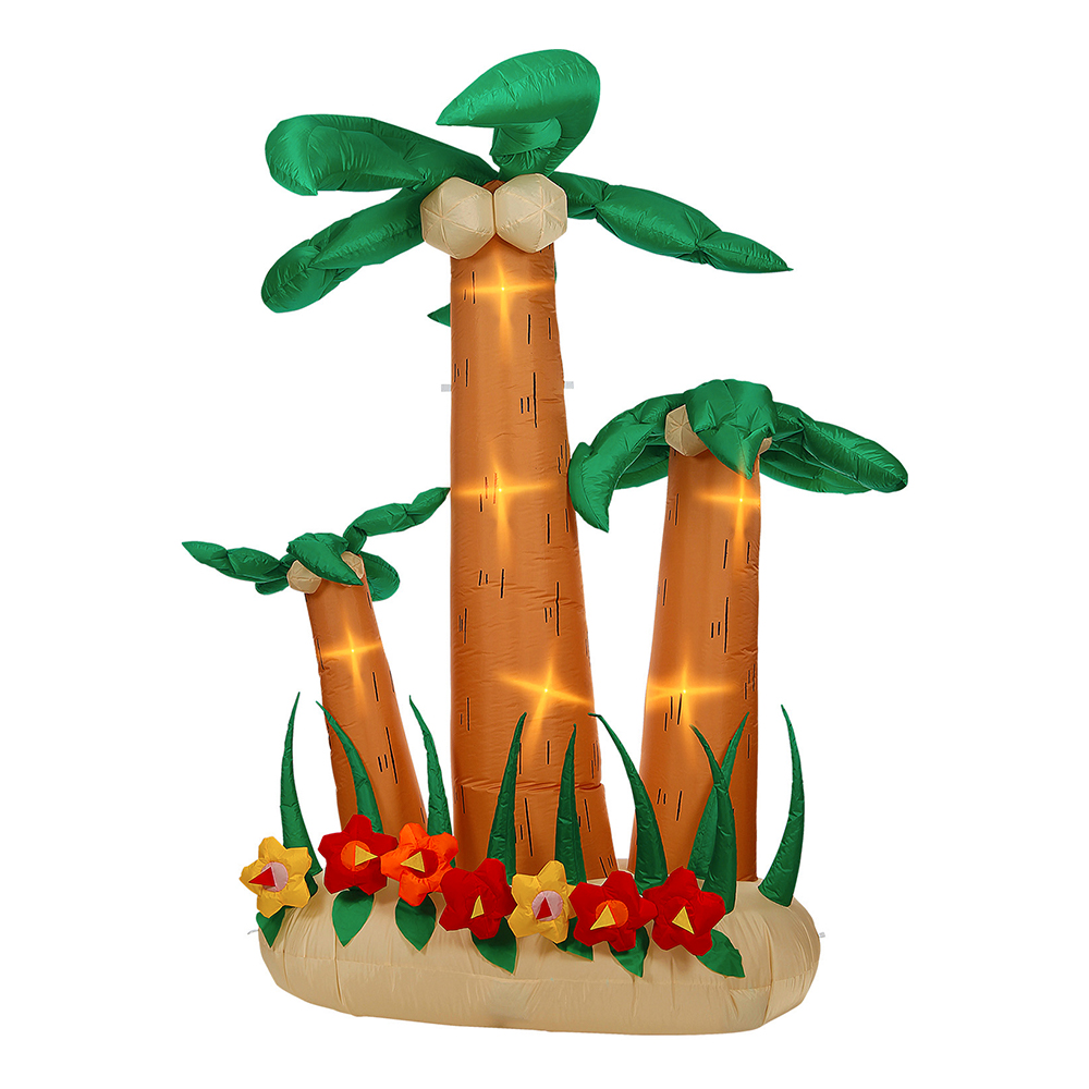 Uppblåsbara Palmträd med Belysning