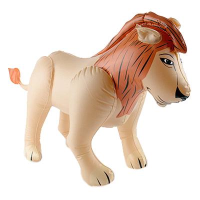 Uppblåsbart Lejon