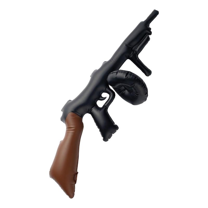 Uppblåsbart Tommy Gun