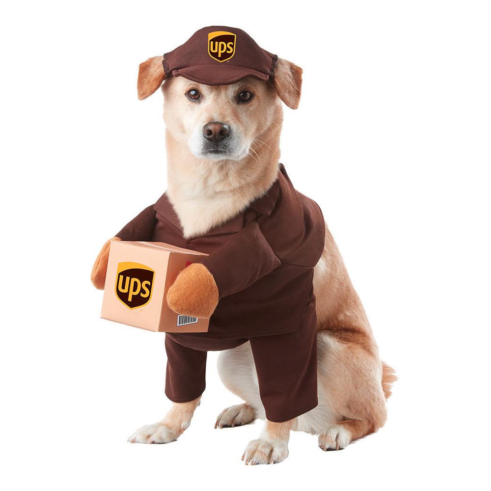 UPS Hund Maskeraddräkt - X-Small