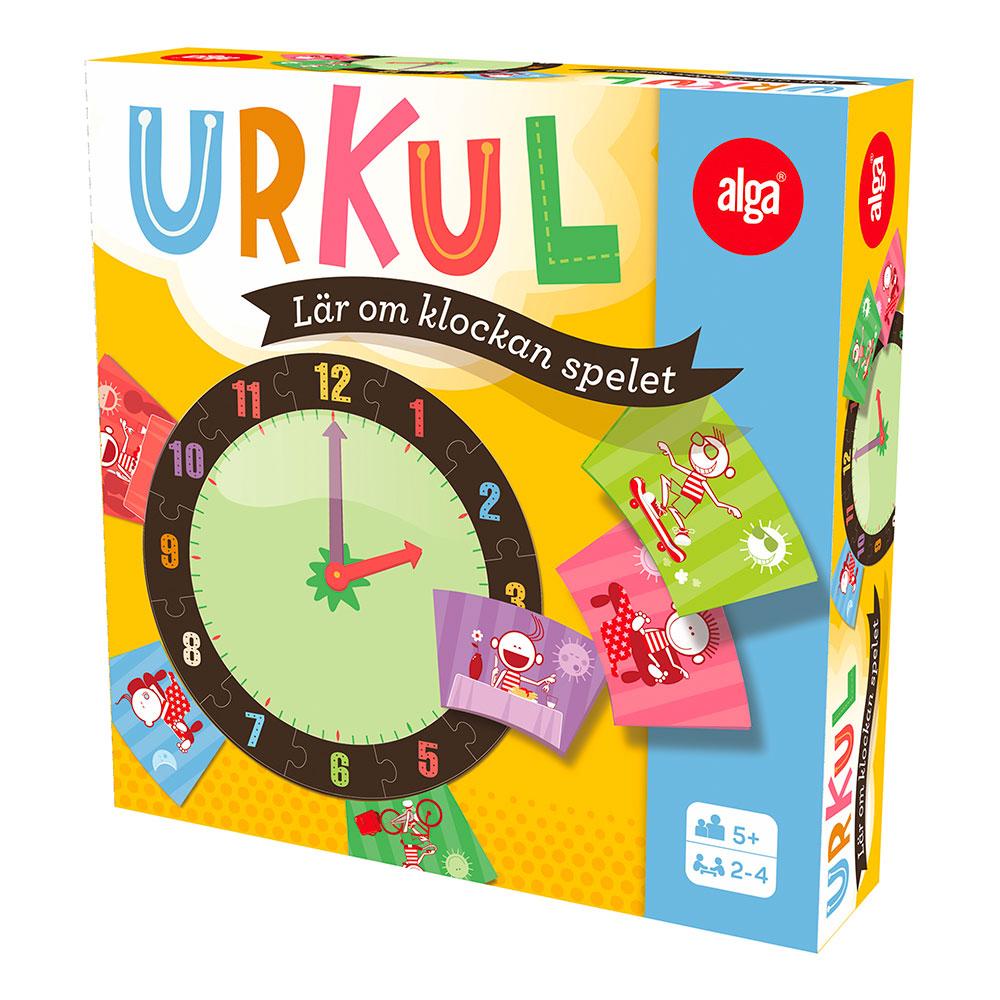 Urkul Lär om klockan-spelet