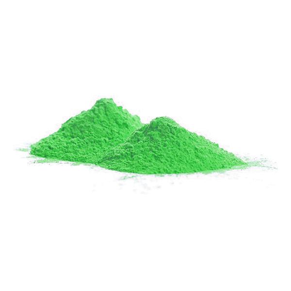 UV Neon Holipulver Grön - 100 gram