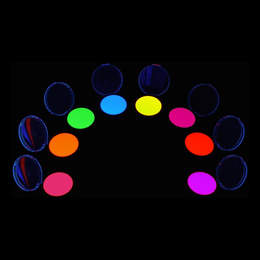 UV Neon Ögonskugga - Röd