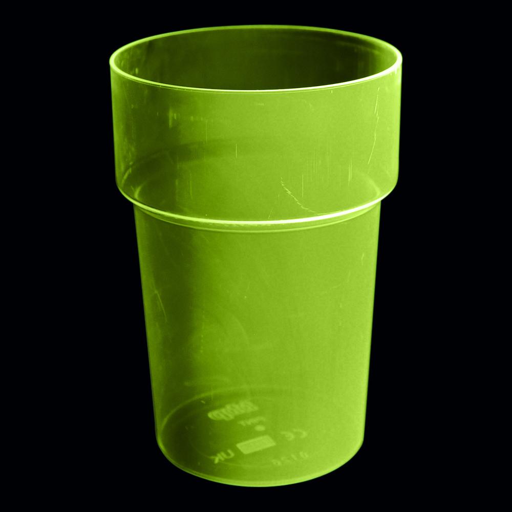 UV Neon Ölglas - Gul