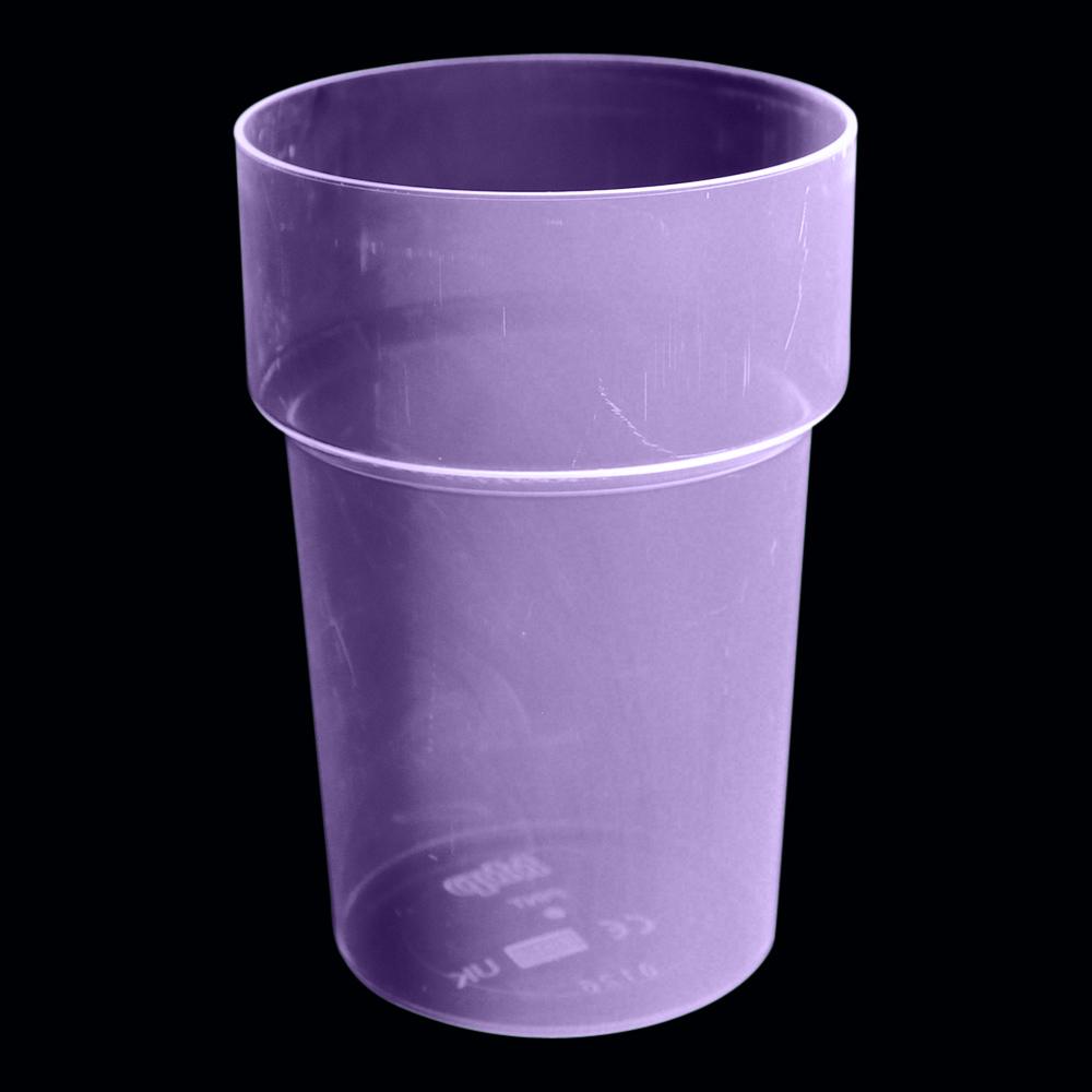 UV Neon Ölglas - Lila