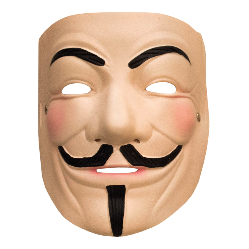 V For Vendetta Latexmask - One size