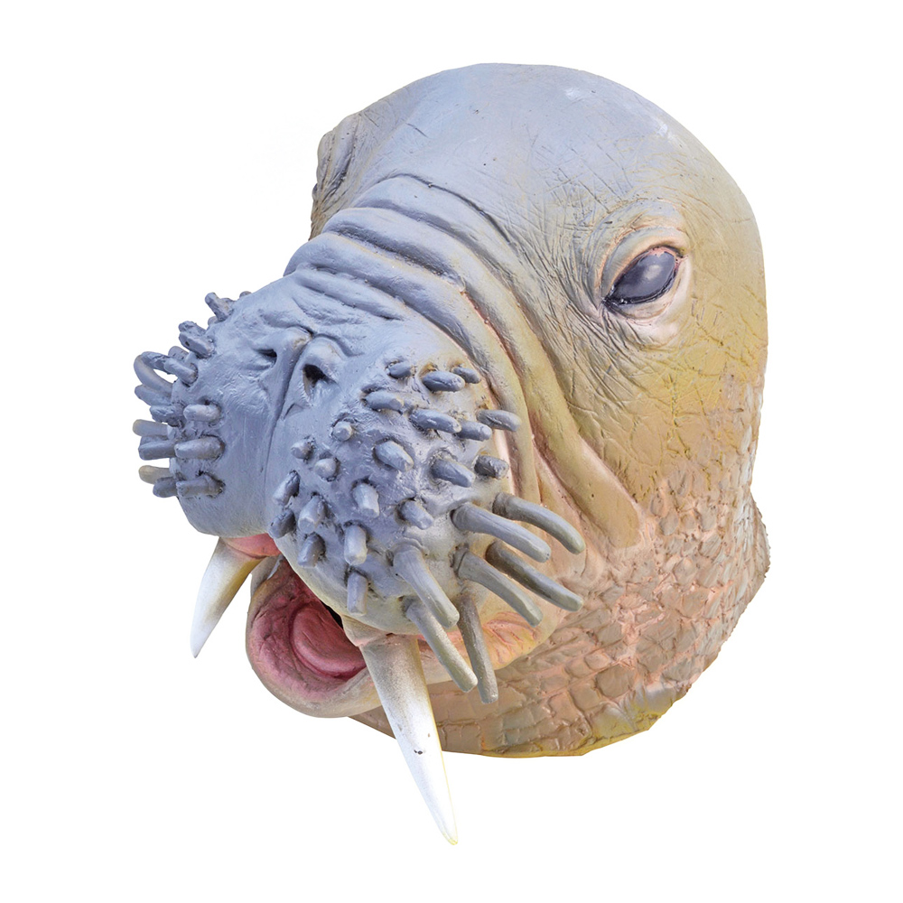 Valrossmask i Gummi - One size