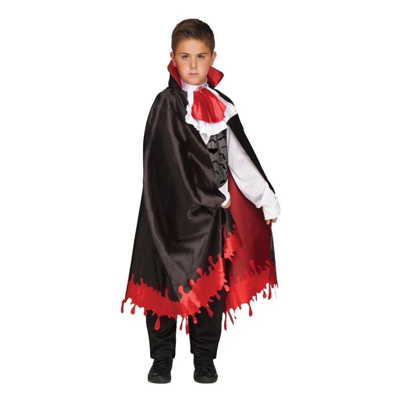 Vampyr med Blod Barn Maskeraddräkt - Medium