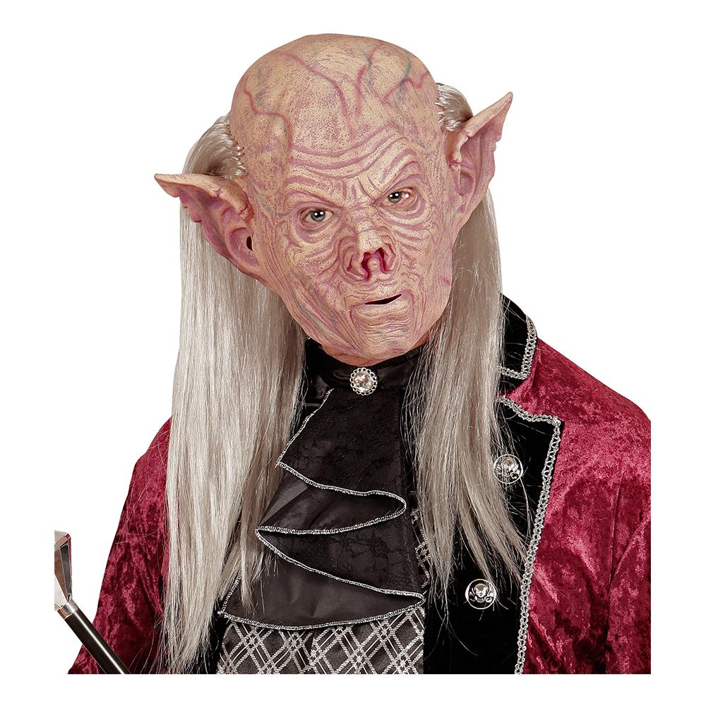 Vampyrmask med Hår - One size