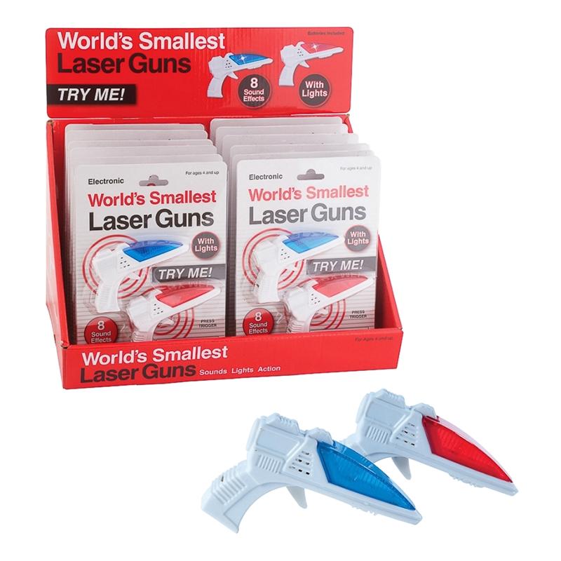 Världens Minsta Laserpistoler