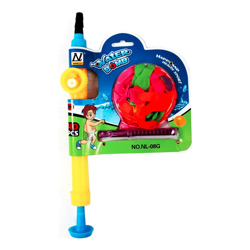 Vattenballong med Pump - 40-pack